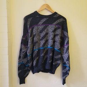 Vintage   90s Acrylic Oversized Sweater